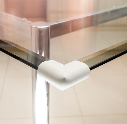 Protetor para quina de vidro formato U Comtac Kids - Cinza