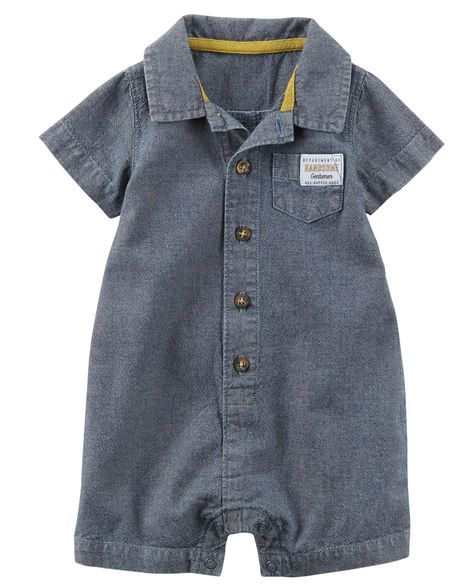 Romper Chambray Carter's
