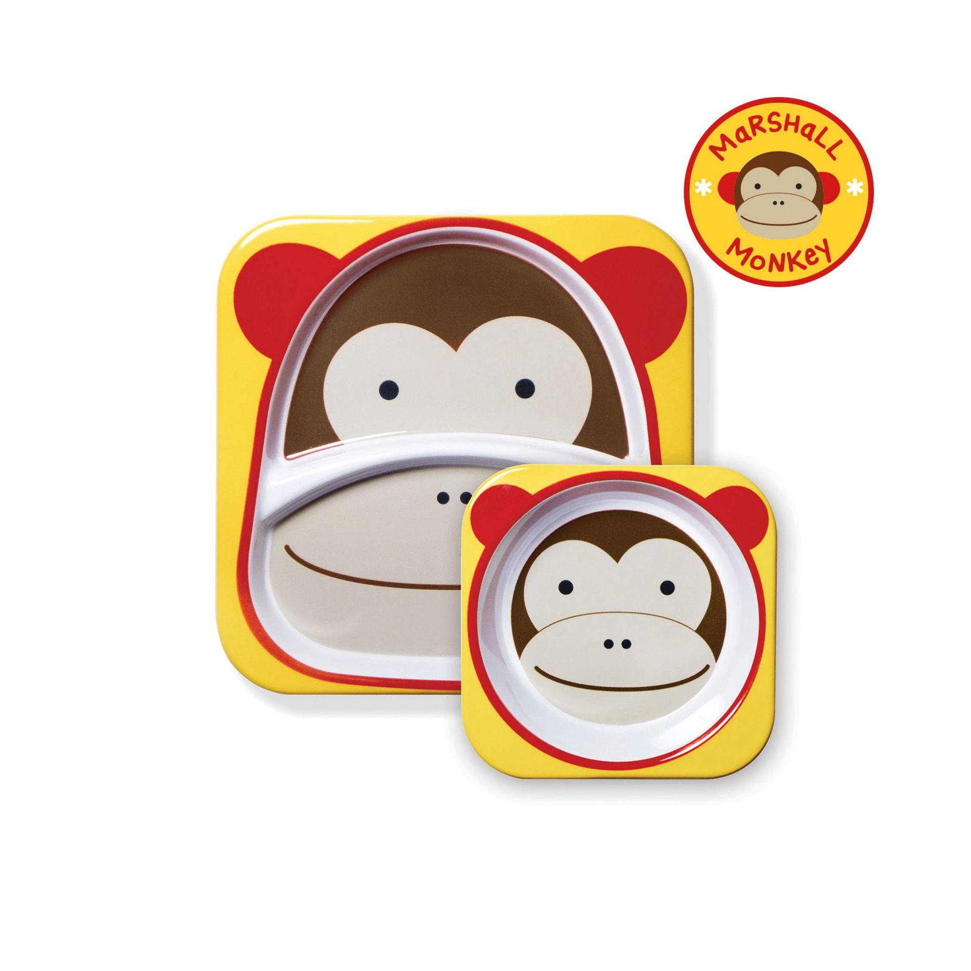 Set de Prato e Bowl Skip Hop - Macaco