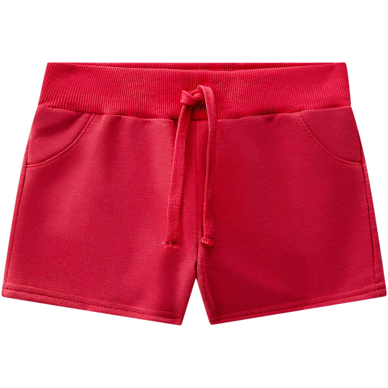 Short Moletom KYLY - Vermelho