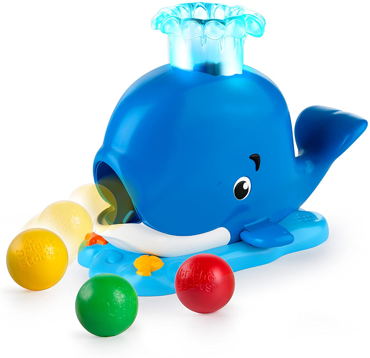 Silly Spout Whale Popper Bright Starts