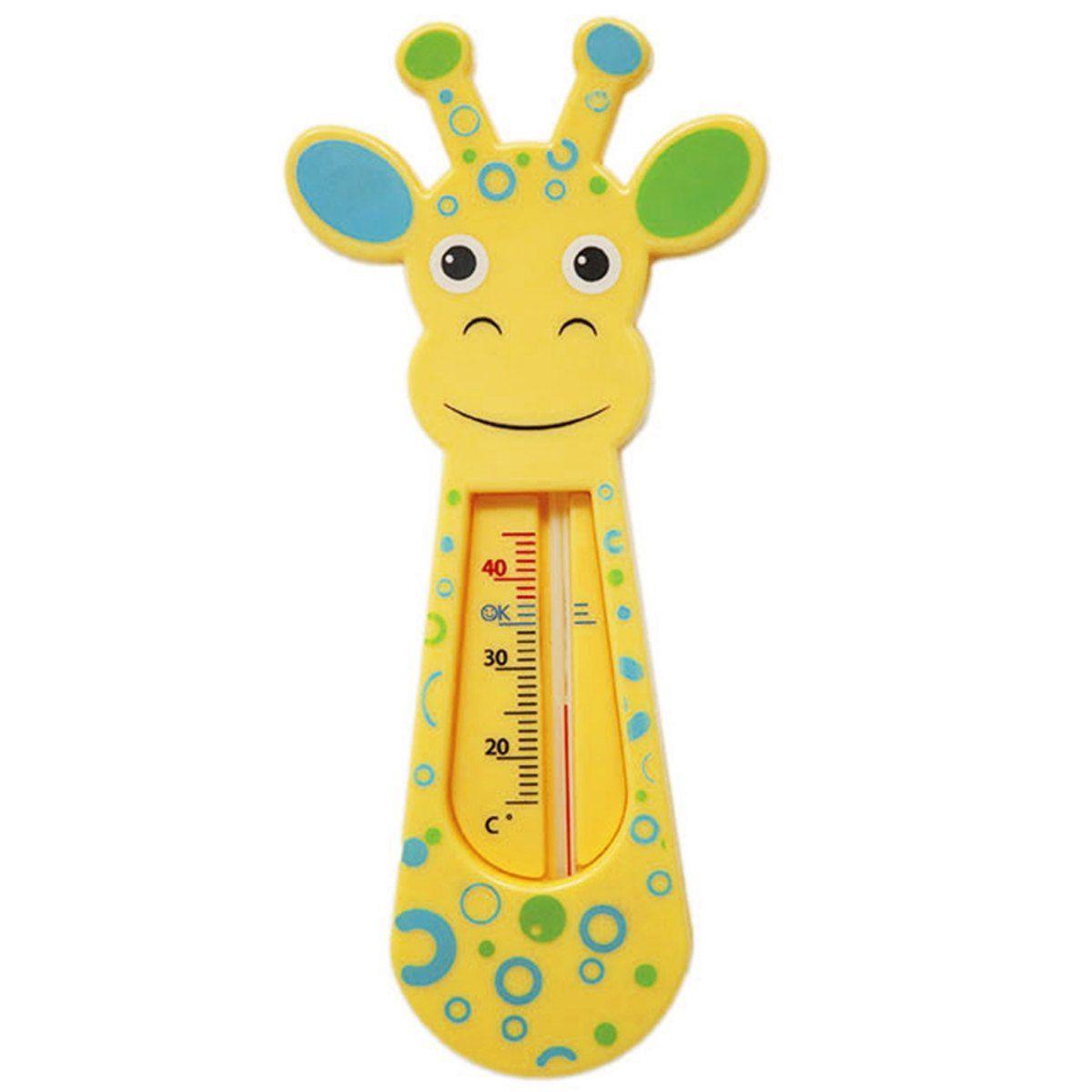 Termômetro para banho Girafinha Buba - Verde e Azul