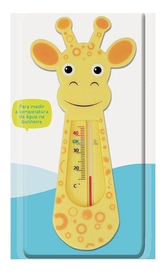 Termômetro para banho Girafinha Buba - Laranja