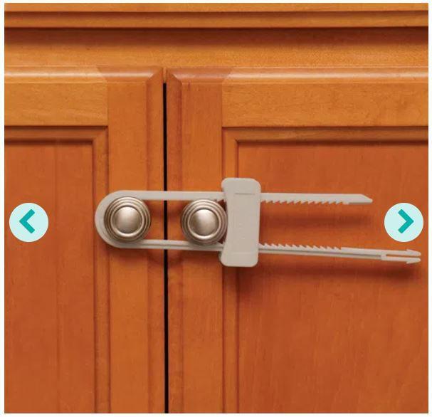 Trava slide para armários formato U Safety 1st - 1 unidade
