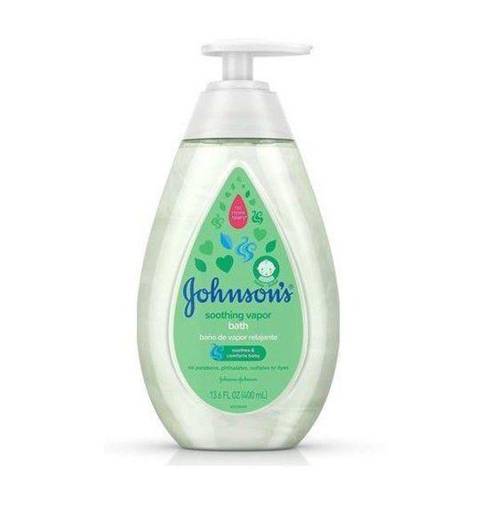 Vapor Bath - Banho de Vapor Relaxante Johnsons's - 400ml