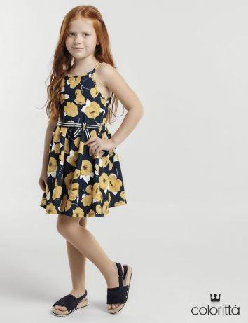 Vestido Flores Elian Coloritta