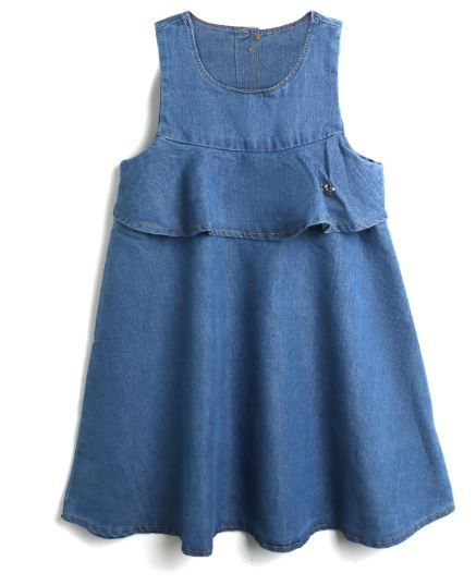 Vestido Jeans Elian Coloritta