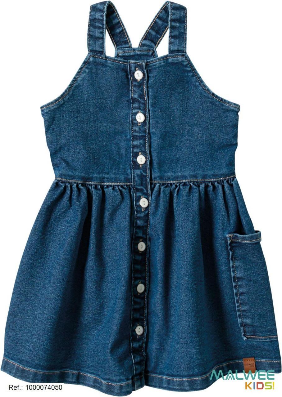 Vestido Jeans Malwee