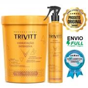 Creme de Hidratação Profissional Trivitt Com Fluido Para Escova