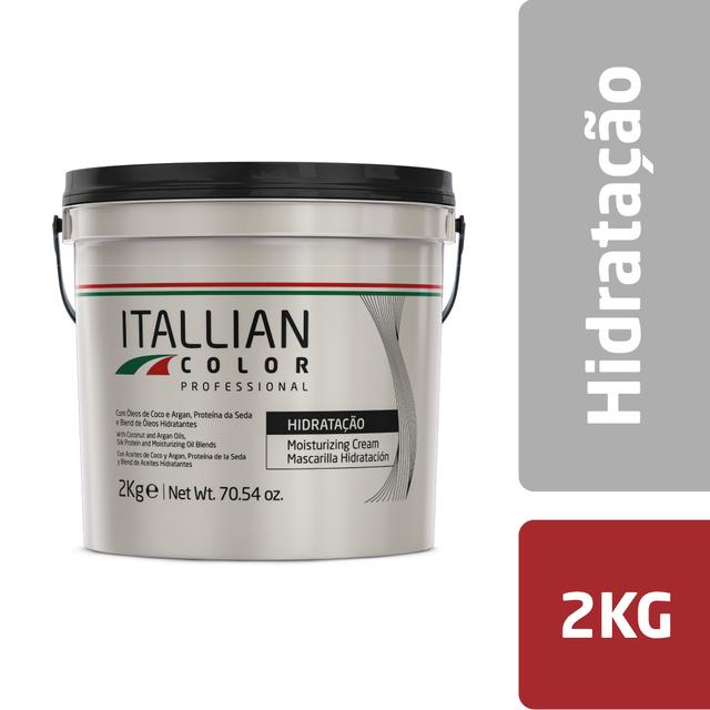 Creme Máscara de Hidratação Capilar Itallian Color 2kg