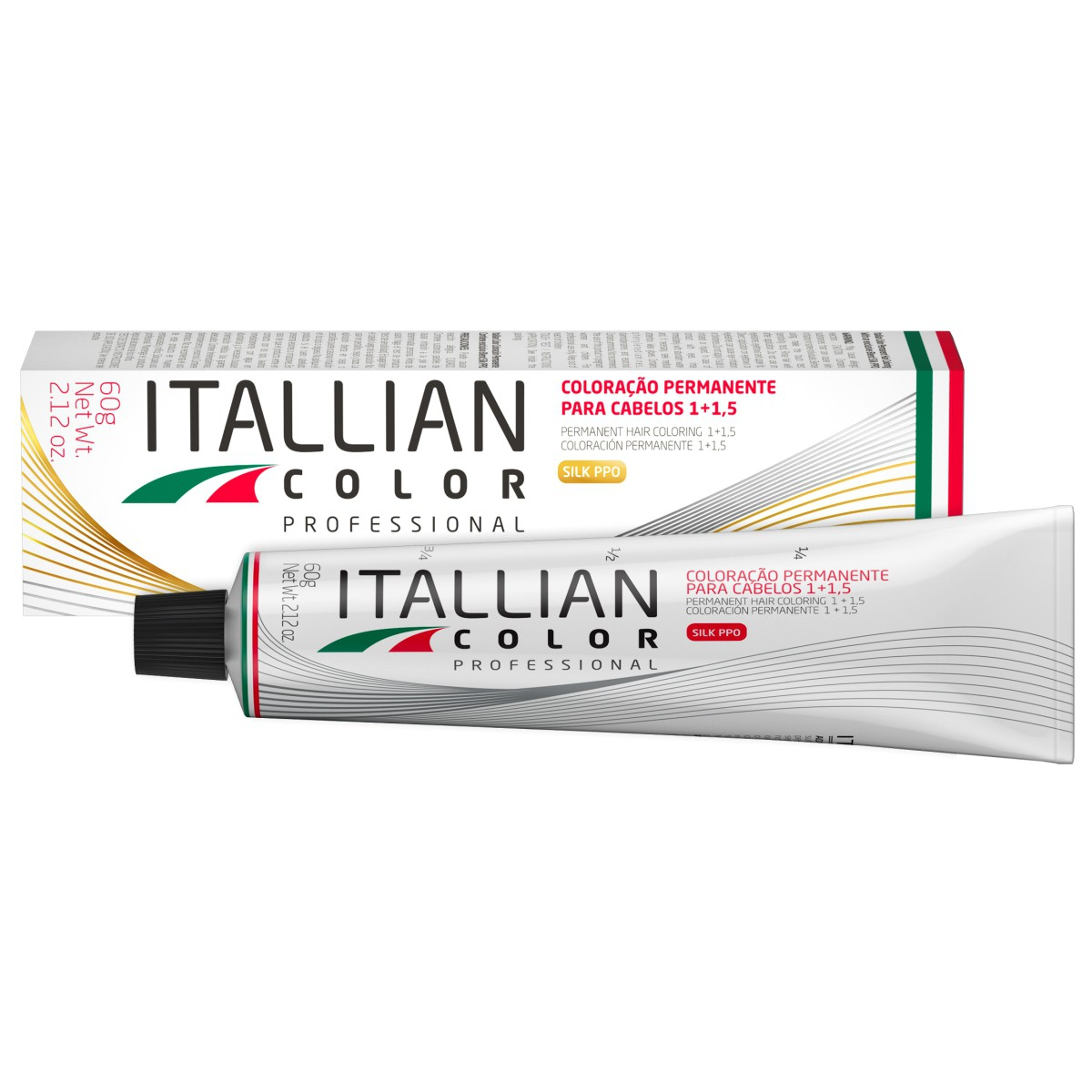 Kit 6 Tinta de Cabelo 8.0 Profissional Itallian Color + Ox 20