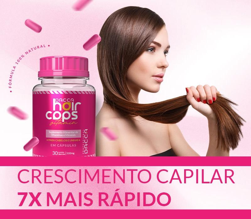 Kit Dacca Hair Caps Crescimento Capilar Tratamento 90 dias