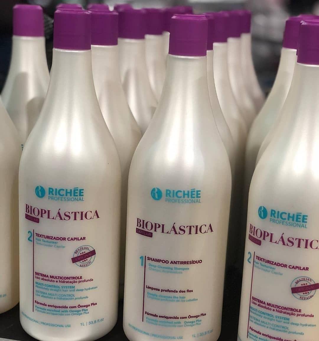 Kit Escova Progressiva Profissional Bioplástica Richée