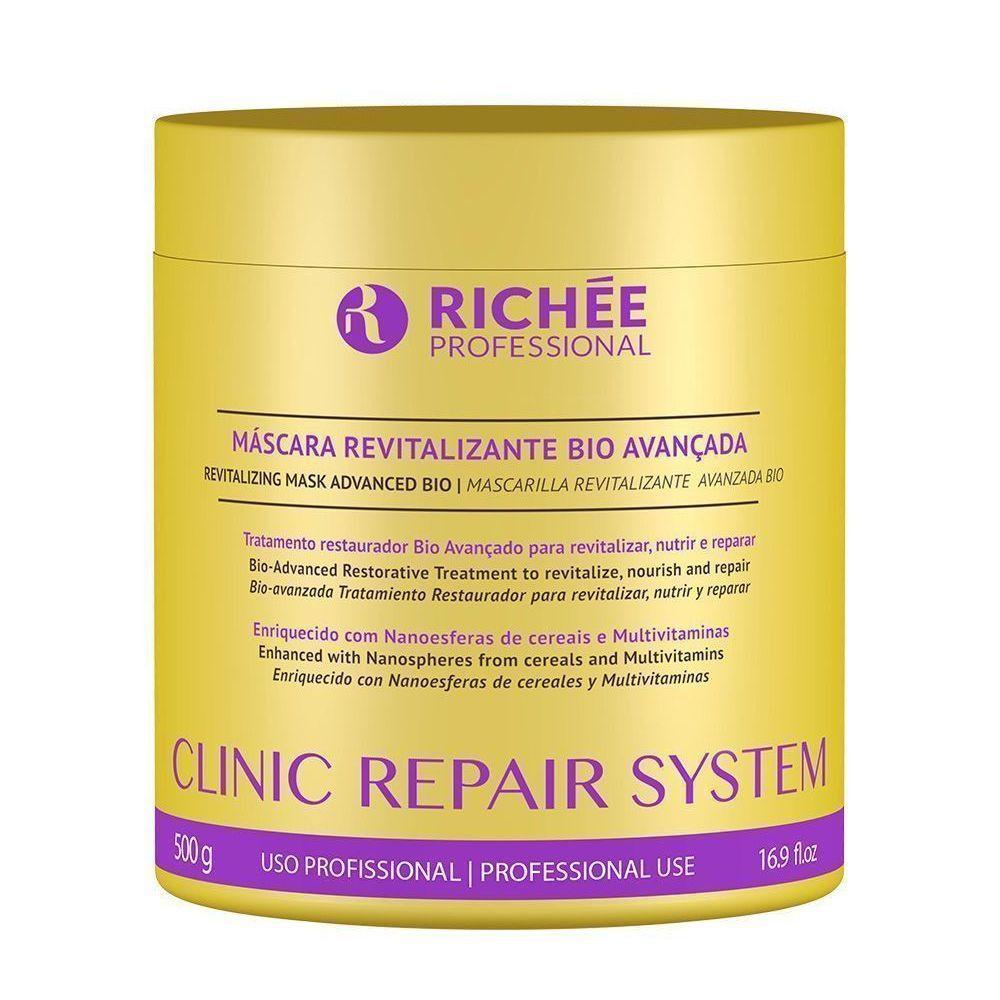 Kit Reconstrução E Hidratação Clinic Repair System Richée
