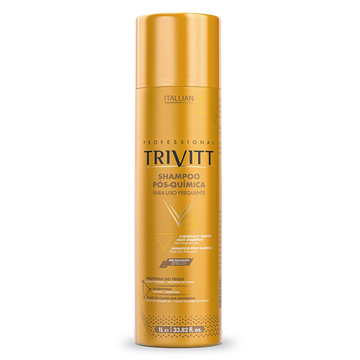 Kit Trivitt Cronograma Capilar Shampoo Hidratação e Reconstrução