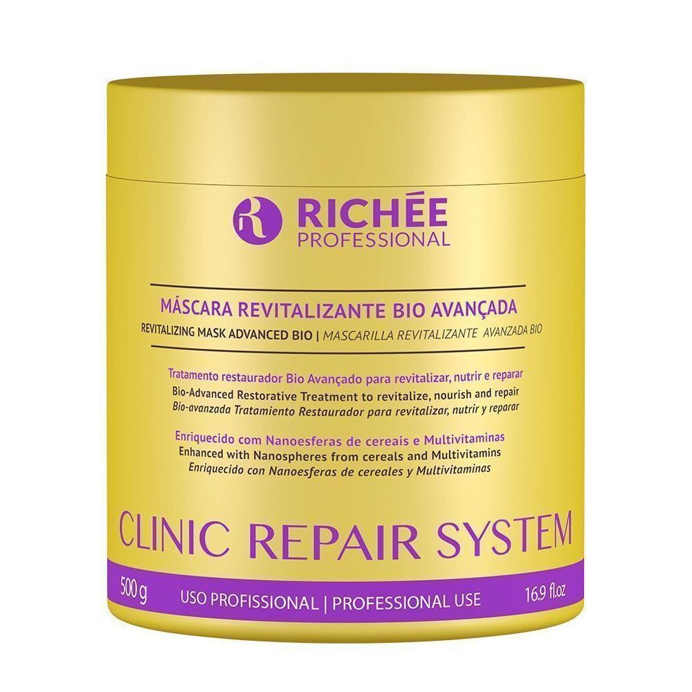 Máscara Revitalizante Richée Clinic Repair System 500g