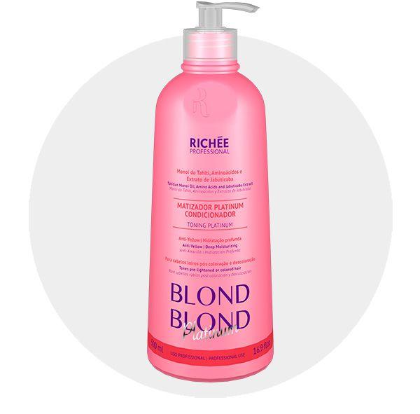 Matizador Profissional Platinado Para Mechas Richée Blond