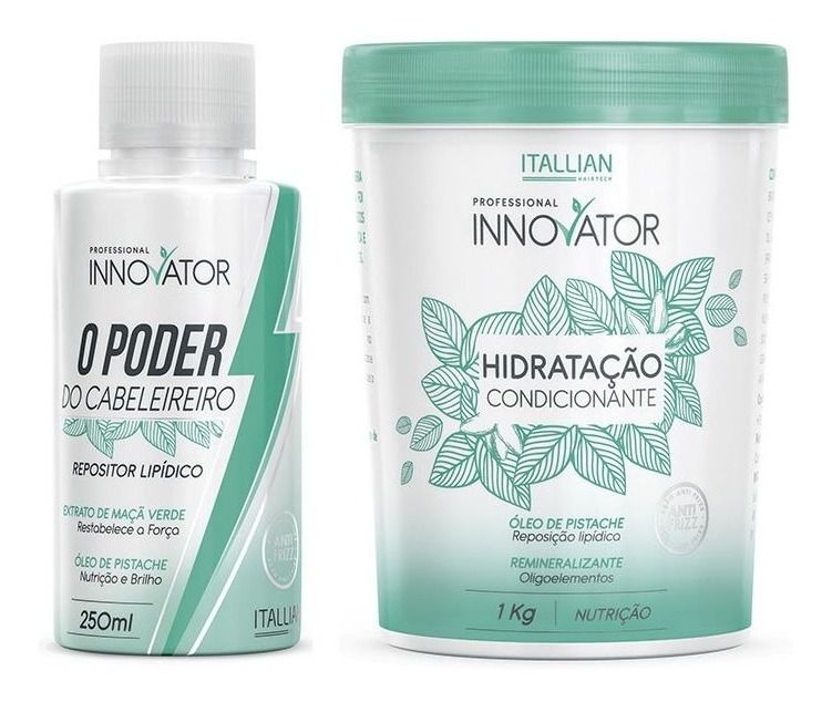 O Poder Do Cabeleireiro Itallian Innovator + Hidratação