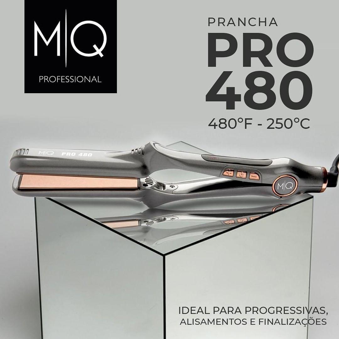 Prancha De Cabelo Chapinha Profissional Titanium Mq Pro 480