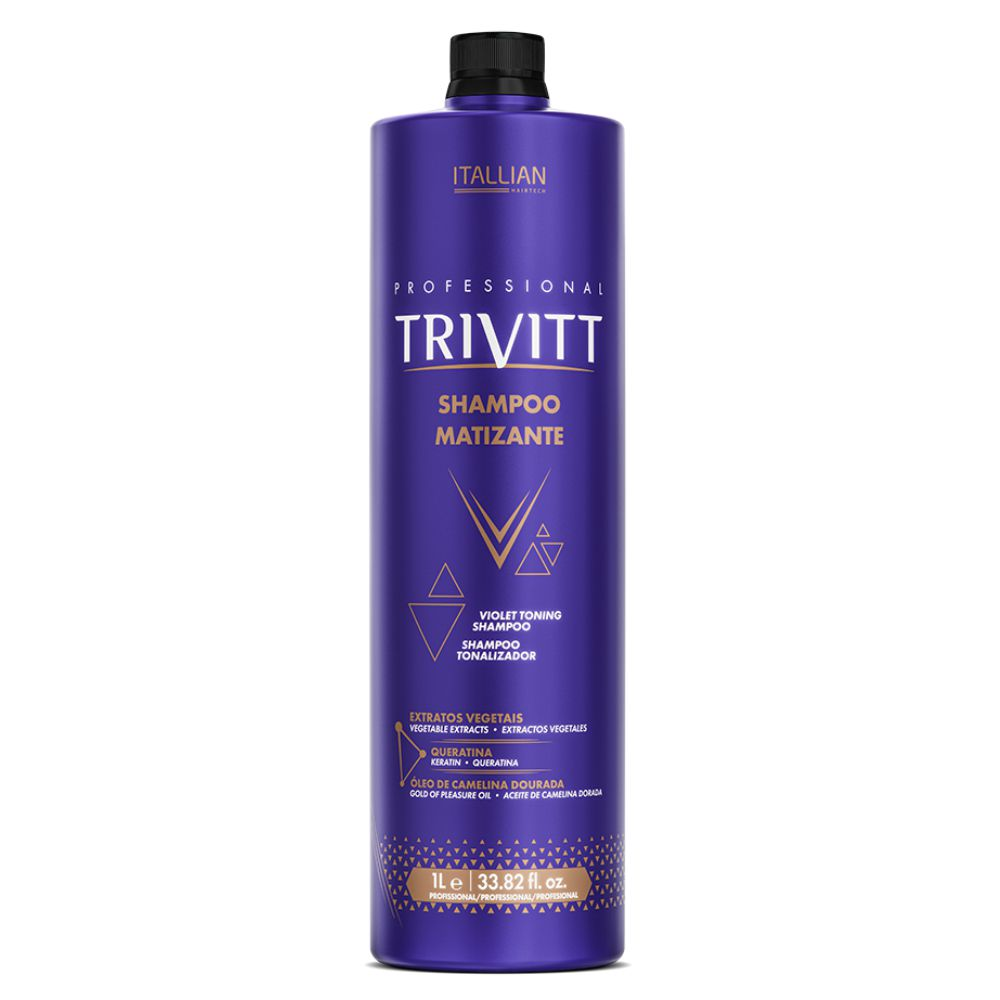 Shampoo Matizante Trivitt 1L