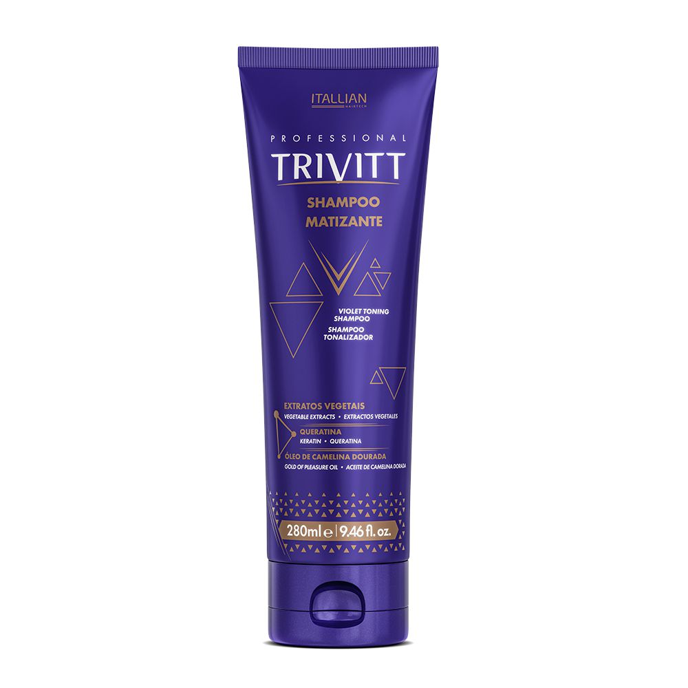 Shampoo Matizante Trivitt 280ml