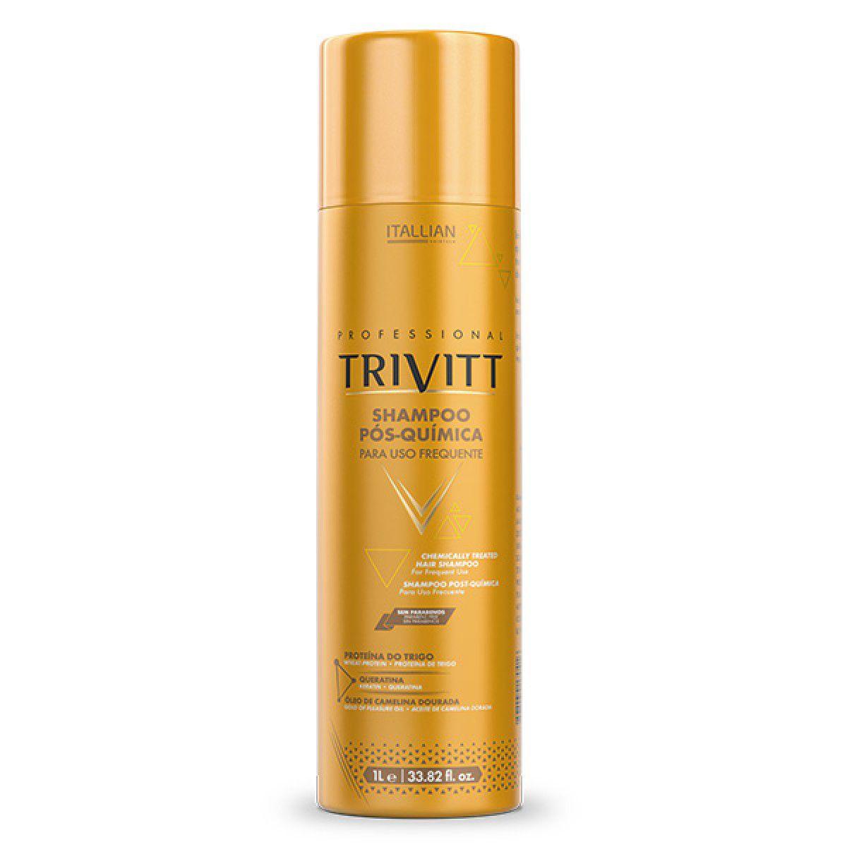 Shampoo Pós-Química para uso frequente 1L Trivitt