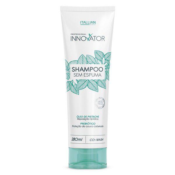 Shampoo Sem Espuma Innovator P/ Reposição Lipídica 280ml