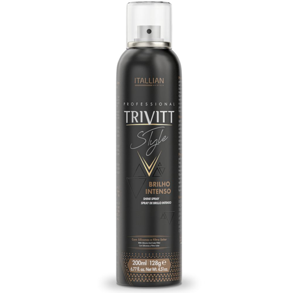 Spray de Brilho Intenso Trivitt Style 200ml