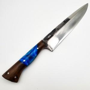 faca D'Ávila para Churrasco 8' Cabo Resinado Azul