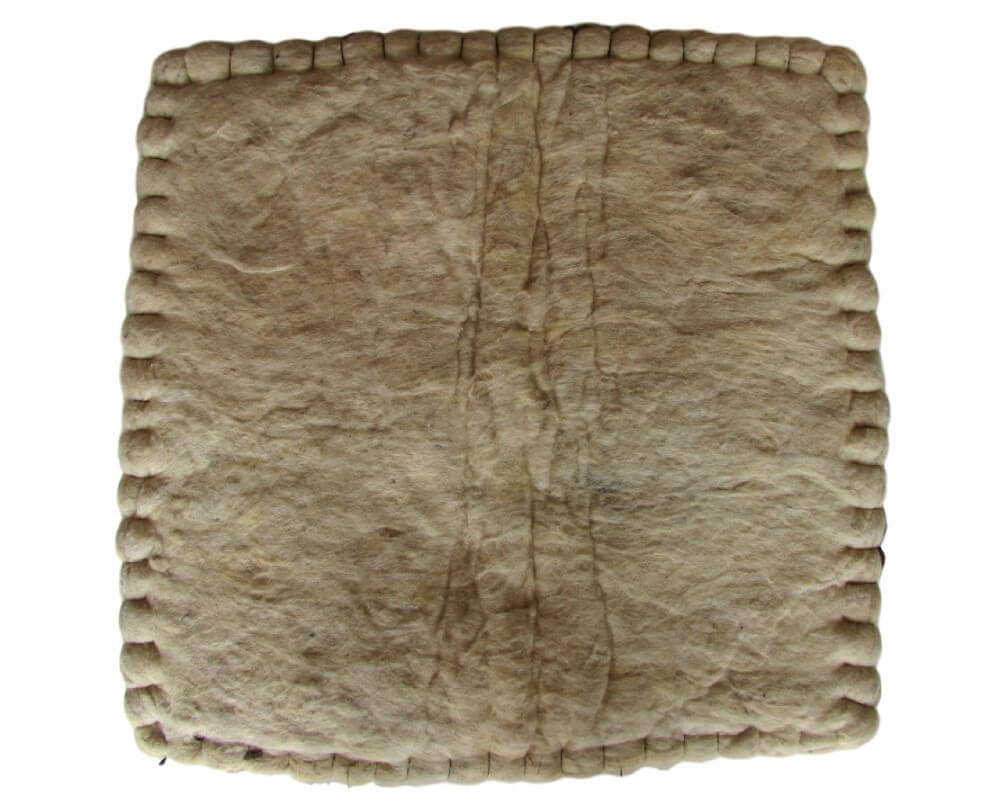 Bacheiro de Lã Prensada