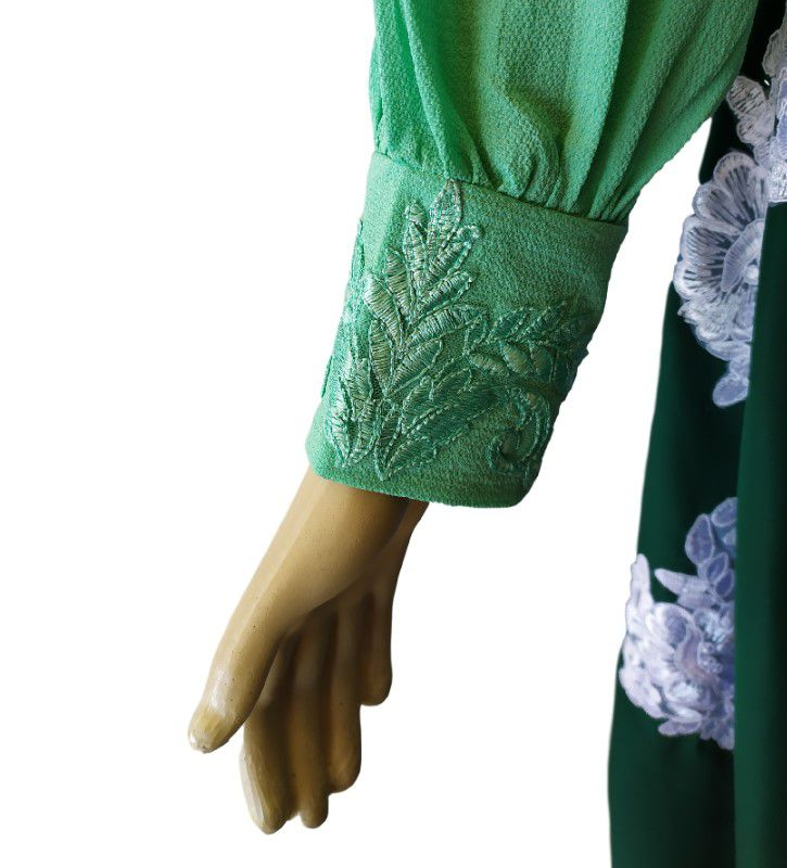 Blusa de Prenda Gaúcha Janete Verde