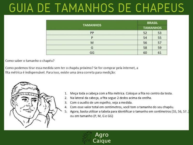 Chapéu Gaúcho Marcatto Flocado