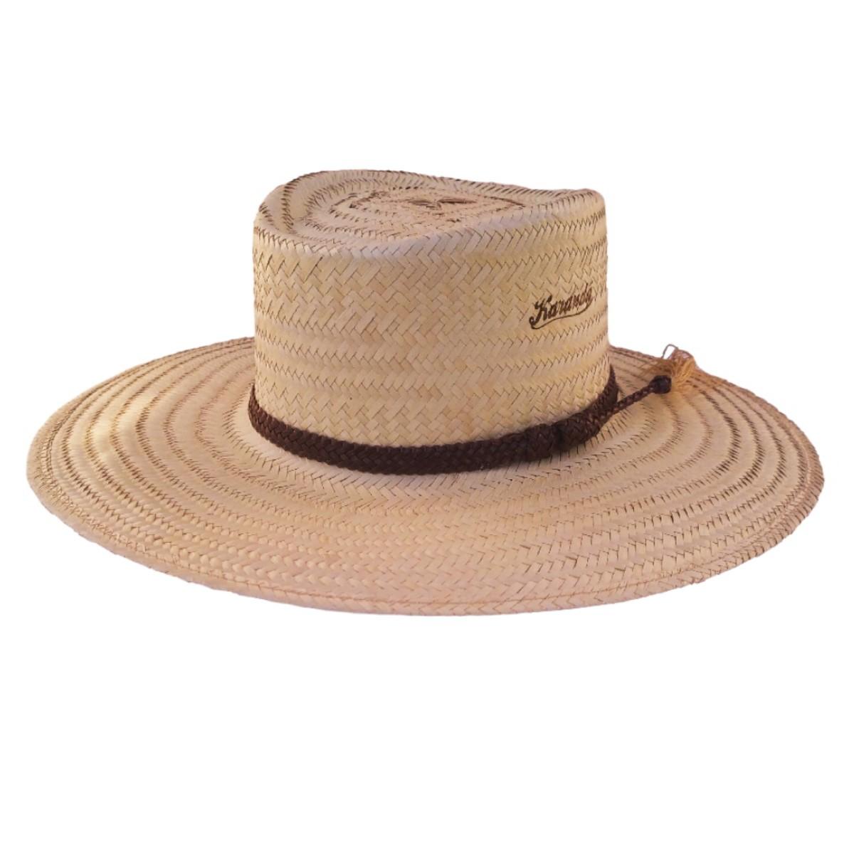 Chapéu Karandá de Palha Campeiro Crina 2