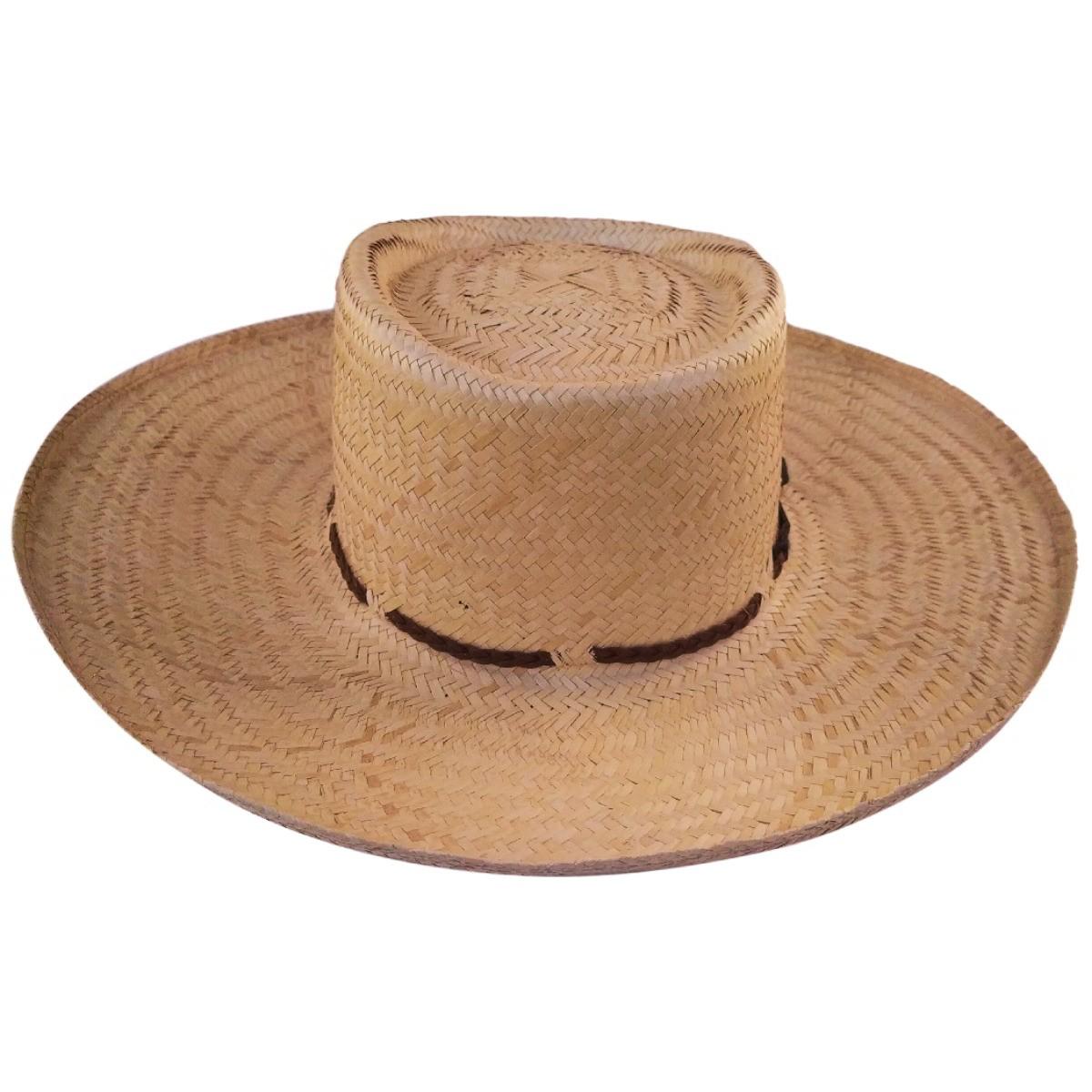 Chapéu Karandá de Palha Campeiro Pantanal