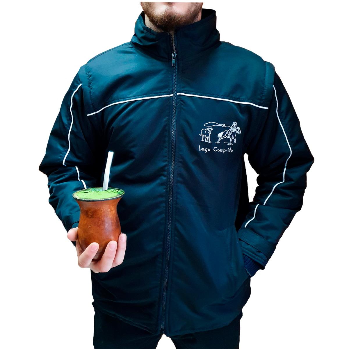 Jaqueta Laço Comprido Repelente a Água