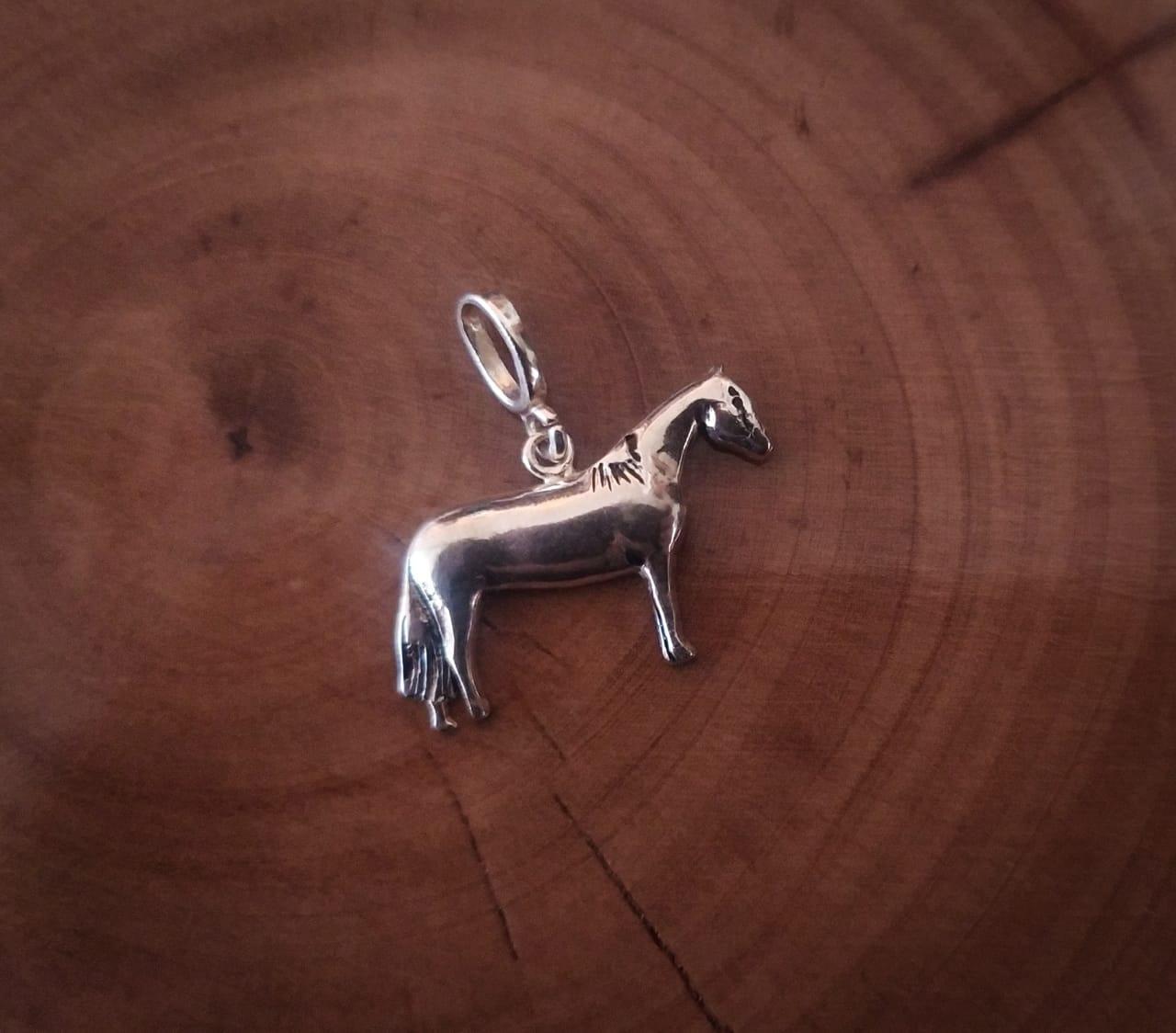 Pingente Country Cavalo Prata 925
