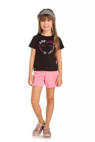 Blusa Infantil Verão Cute - Quebra cabeça