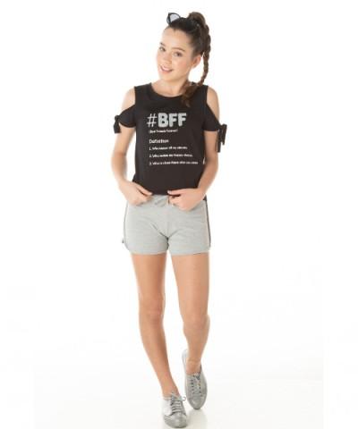 Blusa Infantil Verão BFF - Quebra Cabeça