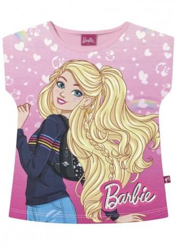 Blusa Infantil Verão Barbie - Fakini