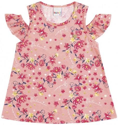 Blusa Infantil Verão Floral - Kaiani
