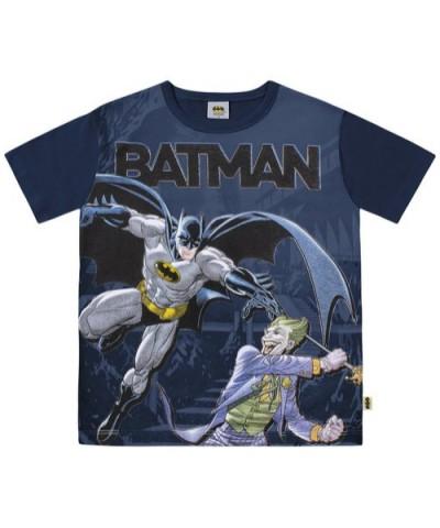Camiseta Infantil Verão Batmam - Fakini