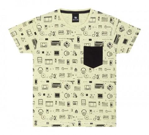 Camiseta Infantil Verão Game Neon - Biogás