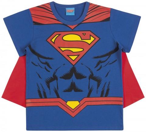 Camiseta Infantil Verão Menino Super Homem - Kamylus