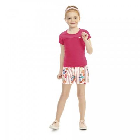 Conjunto Infantil Verão com Tule, 2 peças - Kaiani