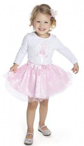 Conjunto Infantil Bailarina, 2 peças - Duduka