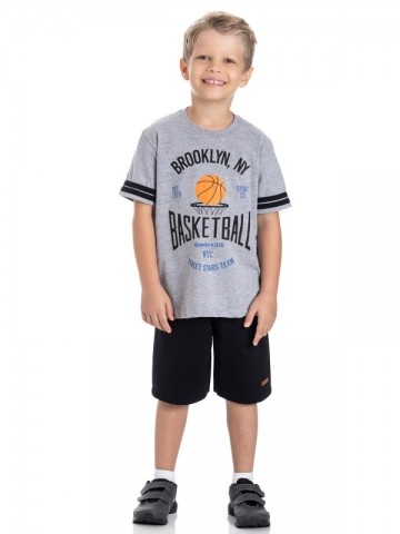 Conjunto Infantil Verão Basketball, 2 peças - Gueda