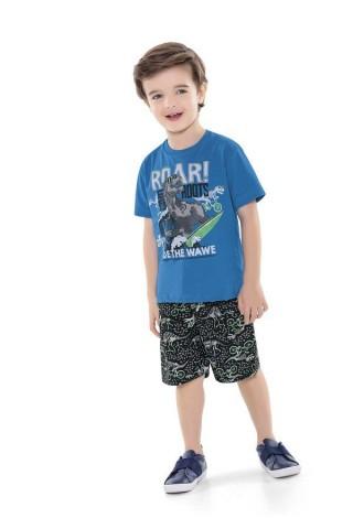 Conjunto Infantil Verão Dinossauros, 2 peças - Fakini