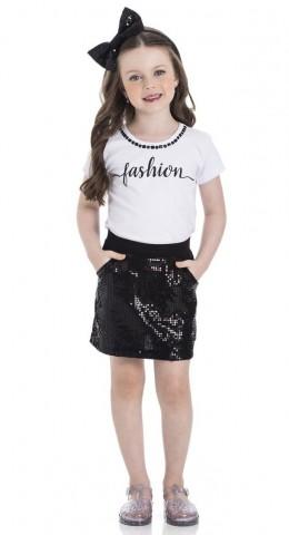 Conjunto Infantil Verão Fashion, 2 Peças - Gueda