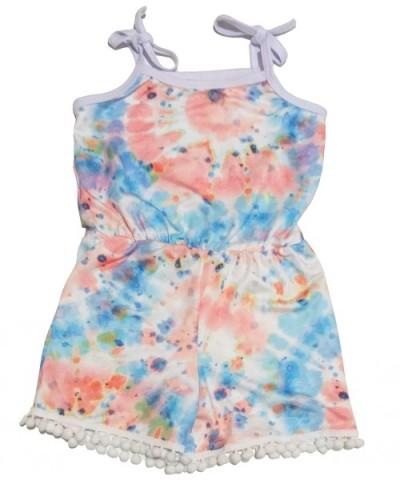 Macacão Infantil Verão Tie Dye  - DivinaLu