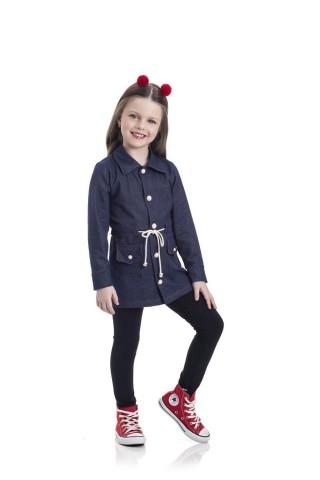 Parka Infantil Cotton Jeans - Gueda